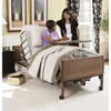 Invacare Full Electric Homecare Bed with Innerspring Mattress and Half Length Rails INV BED9-1633