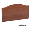 Invacare Amherst Bed Ends in African Walnut (for CS7 bed with ACP) INVIHCSAMSAW-ACP