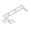Invacare 4 Bed Extender for Carroll CS Series Hospital Beds INV IHCSBEK
