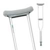 Compass Health Brands ProBasics® Aluminum Crutches, Adult, 4EA/CT CMP PB1055A