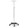 Compass Health Brands ProBasics® IV Stand - 5 Leg, 2 Hook, 2EA/CT CMP PB4035