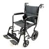 Transport Chairs Lightweight: Compass Health Brands - ProBasics® Deluxe Lightweight Aluminum Transport Wheelchair - Burgundy