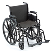 Rehabilitation: Compass Health Brands - ProBasics® Economy K1 Wheelchair with Footrests, 18x16