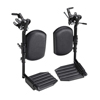 Invacare Hemi Elevating Legrests w/Footplates INV T94HAP