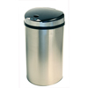 iTouchless 13 Gallon Semi-Round Extra-Wide Opening Touchless Trash Can® HX ITO IT13HXEA