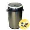 iTouchless 18 Gal. Automatic Stainless Steel Touchless Trash Can® NX ITO IT18RCCS
