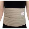 """Patient Restraints & Supports: Ita-Med - Breathable Elastic 9"""" Abdominal Binder for Men - Beige, Large"""