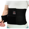 Ita-Med Breathable Elastic 9 Abdominal Binder for Men - Black, Large ITA IAB-309-M-LBL