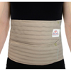 "Patient Restraints & Supports: Ita-Med - Breathable Elastic 9"" Abdominal Binder for Men - Beige, 2XL"
