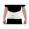 Patient Restraints Supports Back Support: Ita-Med - Breathable Elastic Duo-Adjustable Back Support - White, 2XL