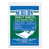 cleaning chemicals, brushes, hand wipers, sponges, squeegees: SCRUBS® Insect Shield™ Insect Repellent Wipes