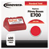 Innovera Innovera Compatible with 769-0 Postage Meter,  400-600 Page-Yield, Red IVR 1769