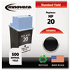 Innovera Innovera Remanufactured C6614DN (20) Ink, 500 Page-Yield, Black IVR20014
