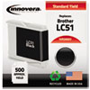 Innovera Innovera Remanufactured LC51BK Ink, 500 Page-Yield, Black IVR 20051