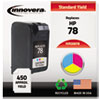 Imaging Supplies and Accessories: Innovera Remanufactured C6578DN (78) Ink, 450 Page-Yield, Tri-Color
