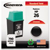 Innovera Innovera Remanufactured 51626A (26) Ink, 790 Page-Yield, Black IVR 2026A