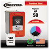 Innovera Innovera Remanufactured C6658AN (58) Ink, 125 Page-Yield, Photo IVR 2058A