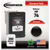 Innovera Innovera Remanufactured CB335WN (74) Ink, 200 Page-Yield, Black IVR 35WN