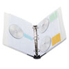 Innovera Innovera® CD/DVD Three-Ring Binder IVR39300