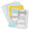 Innovera Innovera® CD/DVD Three Ring Binder Pages IVR 39301