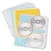 Innovera Innovera® CD/DVD Three Ring Binder Pages IVR39301