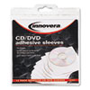 Innovera Innovera® Adhesive CD/DVD Holders IVR39402