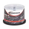 Innovera Innovera® DVD-R Inkjet Printable Recordable Disc IVR 46830