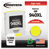 Innovera Innovera Remanufactured C4909AN (940XL) Ink, 1400 Page-Yield, Yellow IVR 4909ANC
