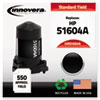 Innovera Innovera Remanufactured 51604A Ink, 550 Page-Yield, Black IVR 51604A