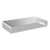 platforms stands and shelves: Innovera Slim Aluminum Monitor Riser