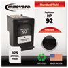Innovera: Innovera Remanufactured C9362WN (92) Ink, 175 Page-Yield, Black