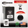 Imaging Supplies and Accessories: Innovera Remanufactured C8765WN (94) Ink, 480 Page-Yield, Black