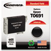 Innovera Innovera Remanufactured T069120 Ink, 465 Page-Yield, Black IVR 69120