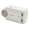 surge protectors: Innovera® Travel Charger/Surge Protector with USB Ports