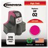 Innovera Innovera Remanufactured C8772WN (02) Ink, 370 Page-Yield, Magenta IVR 72WN