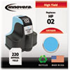Innovera Innovera Remanufactured C8774WN (02) Ink, 240 Page-Yield, Light Cyan IVR 74WN