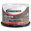 CDs Rewritable: Innovera® CD-RW Rewritable Disc