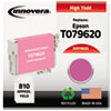Innovera Innovera Remanufactured High-Yield T079620 (79) Ink, 810 Yield, Light Magenta IVR 79620