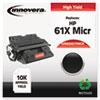 Innovera Innovera® 83061TMICR Compatible Remanufactured MICR Toner, Black IVR83061TMICR