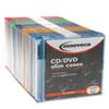 Innovera Innovera® CD/DVD Polystyrene Thin Line Storage Case IVR 85850