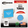 Innovera Innovera Remanufactured T060220 Ink, 600 Page-Yield, Cyan IVR 860220