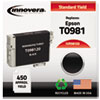 Innovera Innovera Remanufactured T098120 (98) Ink, 450 Page-Yield, Black IVR 98120