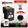 innovera: Innovera Remanufactured CC640WN (60) Ink, 200 Page-Yield, Black