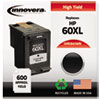 Innovera Innovera Remanufactured CC641WN (60XL) Ink, 600 Page-Yield, Black IVR C641WN