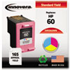 Imaging Supplies and Accessories: Innovera Remanufactured CC643WN (60) Ink, 165 Page-Yield, Tri-Color