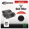 Innovera Innovera Remanufactured CC364X MICR Toner, 24000 Yield, Black IVR C64XM