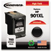 Imaging Supplies and Accessories: Innovera Remanufactured CC654AN (901XL) Ink, 700 Page-Yield, Black