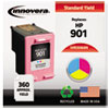 innovera: Innovera Remanufactured CC656AN (901) Ink, 360 Page-Yield, Tri-Color