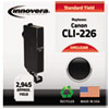 Innovera Innovera Remanufactured 4546B001 (CLI-226B) Ink, 2945 Page-Yield, Black IVR CLI226B