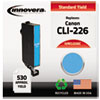 Innovera Innovera Remanufactured 4547B001 (CLI-226C) Ink, 530 Page-Yield, Cyan IVR CLI226C